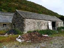 Vecchia costruzione del granaio Fotografia Stock Libera da Diritti