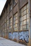 Vecchia costruzione del magazzino Fotografia Stock