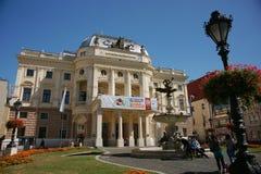 Teatro nazionale slovacco Immagini Stock