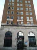 Vecchia costruzione della Banca Fotografie Stock