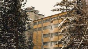 Vecchia costruzione della fabbrica Fotografia Stock