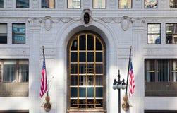 Vecchia costruzione della Repubblica in Chicago Fotografia Stock Libera da Diritti