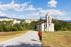 Vecchia costruzione di chiesa Immagine Stock Libera da Diritti