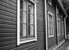 Vecchia costruzione di legno Immagini Stock