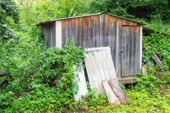 Vecchia costruzione di legno Fotografia Stock Libera da Diritti