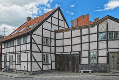Vecchia costruzione di Lund Fotografie Stock Libere da Diritti