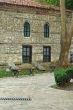 Vecchia costruzione di pietra immagini stock