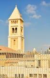 Vecchia costruzione di religione della città di Gerusalemme Immagini Stock Libere da Diritti