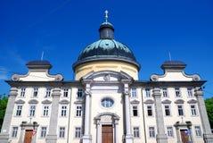 Vecchia costruzione di Salisburgo Fotografie Stock Libere da Diritti