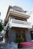 Vecchia costruzione di Schang-Hai Fotografia Stock