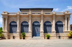 Vecchia costruzione di stile europeo nel grande palazzo, Bangkok Tailandia Fotografia Stock Libera da Diritti