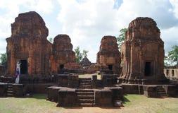 Vecchia costruzione in Esan della Tailandia Fotografia Stock