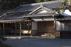 Vecchia costruzione giapponese, dojo di aikidi Fotografia Stock Libera da Diritti