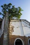 Vecchia costruzione in Java Indonesia immagini stock