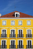 Vecchia costruzione, Lisbona, Portogallo Immagine Stock