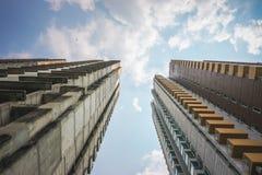 Vecchia costruzione mandata in rovina Fotografia Stock Libera da Diritti