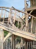 Vecchia costruzione, Marie Antionettes Hamlet, Versaille Immagine Stock