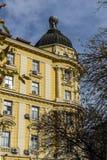 Vecchia costruzione nel centro della città di Sofia, Bulgaria Fotografia Stock Libera da Diritti
