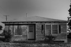 Vecchia costruzione nel Texas Immagini Stock