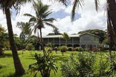 Vecchia costruzione nel Tonga Fotografie Stock Libere da Diritti