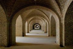 Vecchia costruzione nell'Iran Immagini Stock