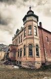 Vecchia costruzione nella città di Ouray, Colorado Fotografia Stock Libera da Diritti