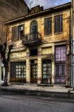 Vecchia costruzione neoclassica Immagini Stock