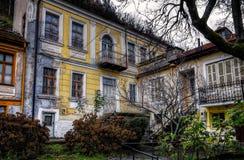 Vecchia costruzione neoclassica Fotografia Stock Libera da Diritti