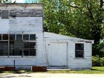 Vecchia costruzione non in uso Fotografie Stock