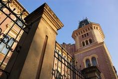 Vecchia costruzione piacevole Fotografia Stock Libera da Diritti