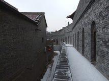 Vecchia costruzione rinnovata Immagine Stock Libera da Diritti
