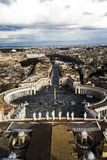 Vecchia costruzione a Roma Immagini Stock Libere da Diritti