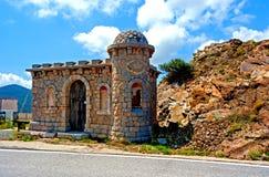 Vecchia costruzione su ordinazione in Pirenei Immagini Stock