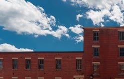 Vecchia costruzione su una via di galena, Illinois fotografie stock libere da diritti