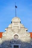 Vecchia costruzione a Tallinn Fotografia Stock