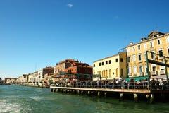 Vecchia costruzione a Venezia, Italia Fotografie Stock Libere da Diritti