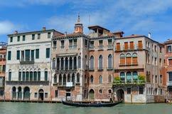 Vecchia costruzione a Venezia immagini stock libere da diritti
