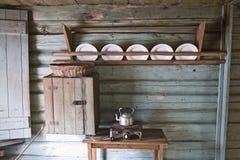 Vecchia cucina Fotografia Stock Libera da Diritti