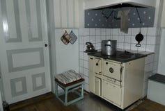 Vecchia cucina Fotografia Stock