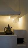 Vecchia cucina di modo Fotografia Stock