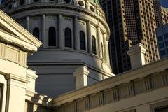 Vecchia cupola federale storica del tribunale del Campidoglio di architettura di stile immagine stock libera da diritti