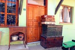 Vecchia decorazione turca del villaggio Fotografia Stock