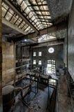 Vecchia distilleria abbandonata del corvo - Kentucky fotografie stock libere da diritti