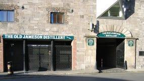 Vecchia distilleria del jameson fotografia stock libera da diritti