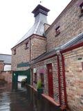 Vecchia distilleria di Bushmills fotografia stock libera da diritti
