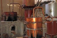 Vecchia distilleria di Singani in Camargo Bolivia fotografia stock