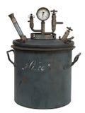 Vecchia distilleria isolata fotografia stock