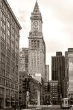 Vecchia dogana di Boston Fotografia Stock Libera da Diritti