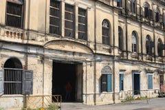 Vecchia dogana rustica a Bangkok fotografie stock libere da diritti