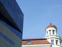 Vecchia e nuova architettura Fotografie Stock